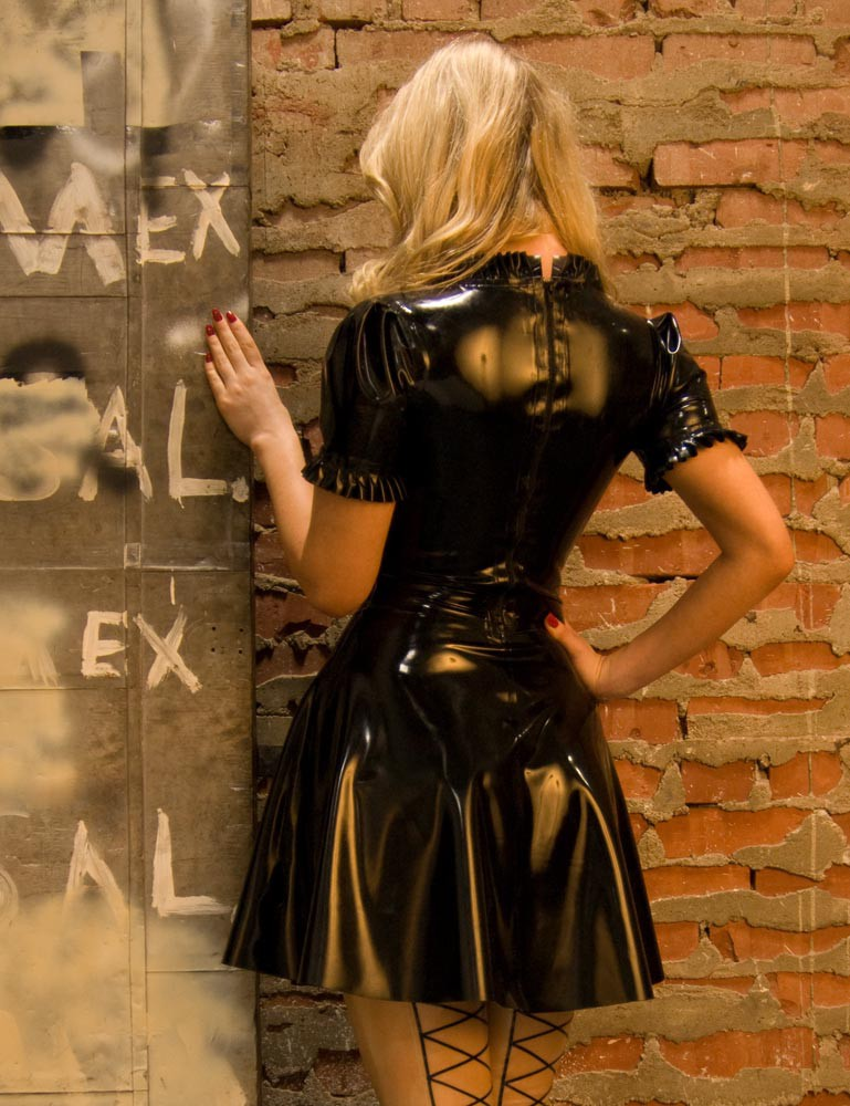Rubber Heidi Dress - Ancilla Tilia