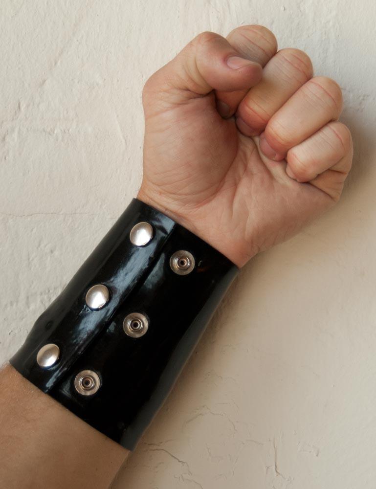 Latex Wrist Wallet