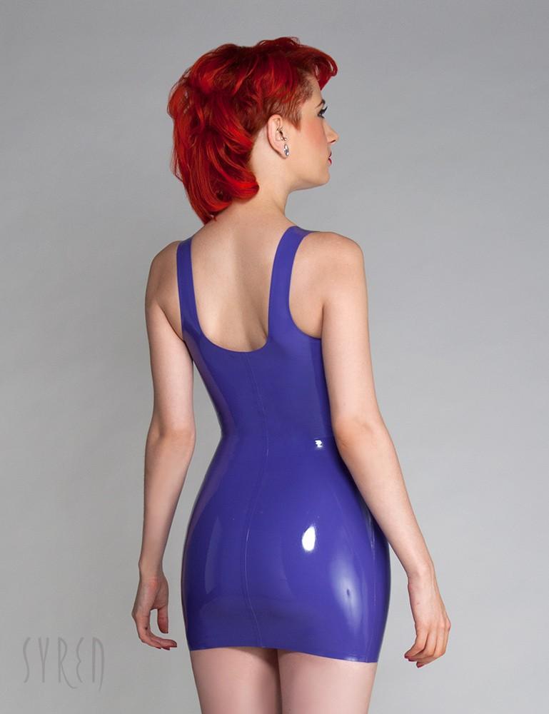 Syren Latex Tank Dress - Ulorin Vex