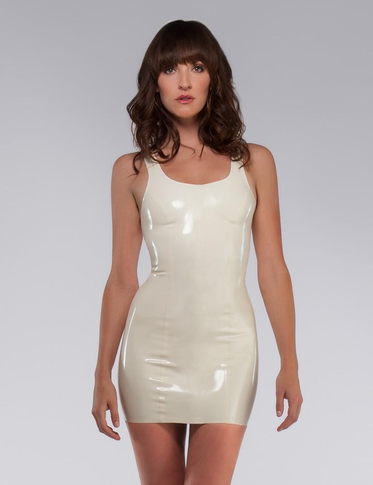 Syren Latex Tank Dress