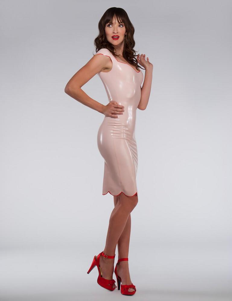 Syren Latex Juliette Dress