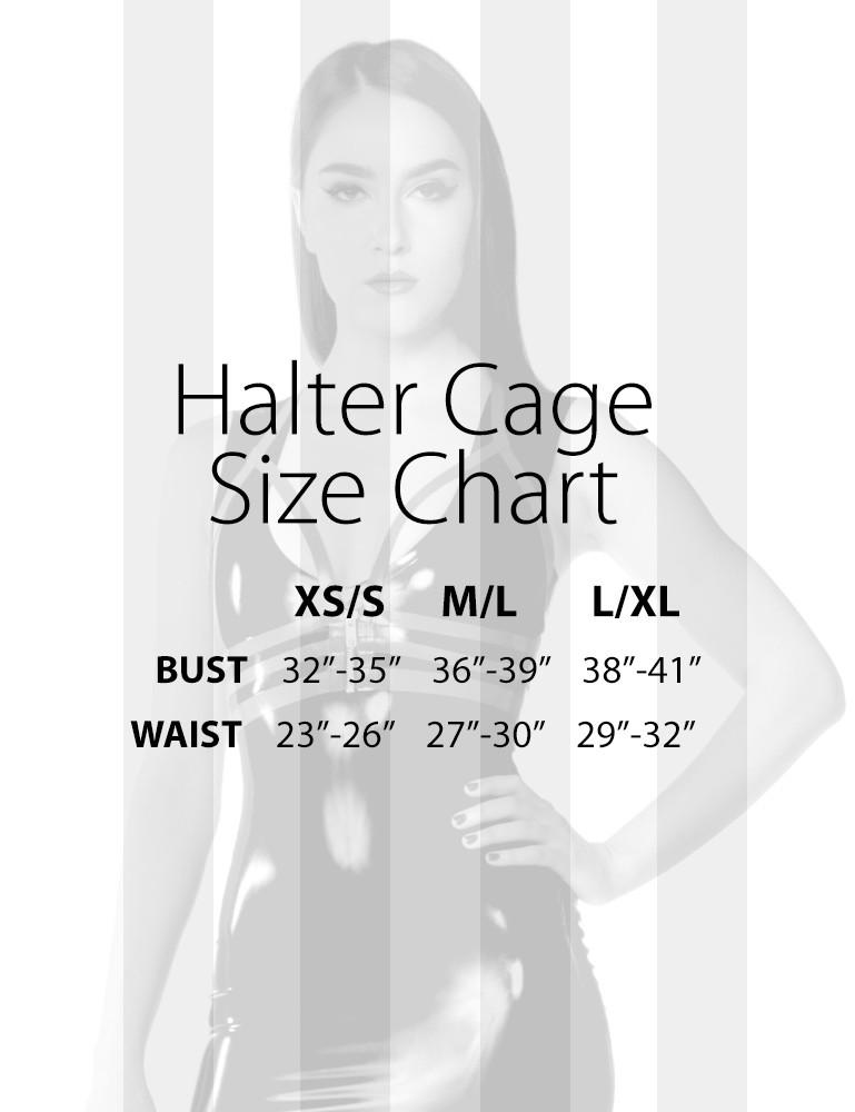 Syren Latex - Halter Cage
