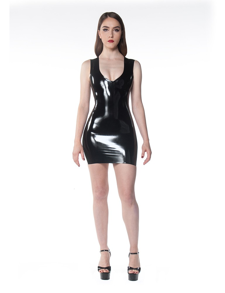 Syren Latex - Little V Dress