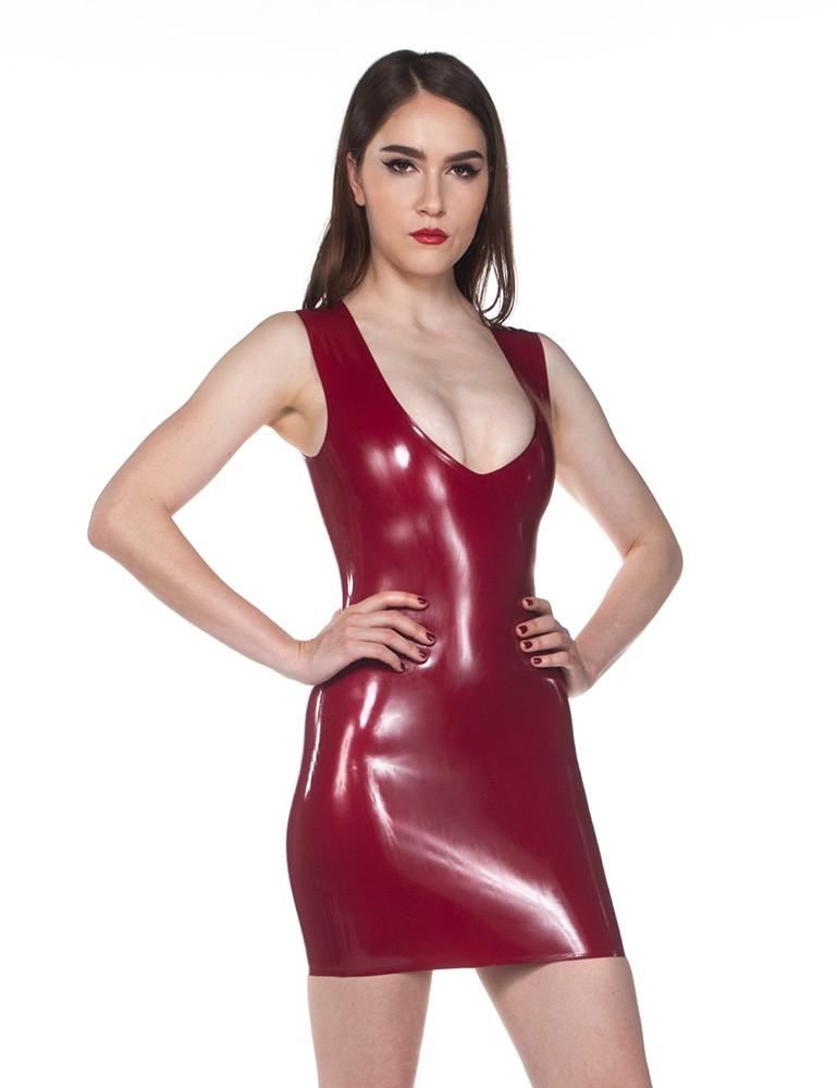 Syren Latex - Little V Dress