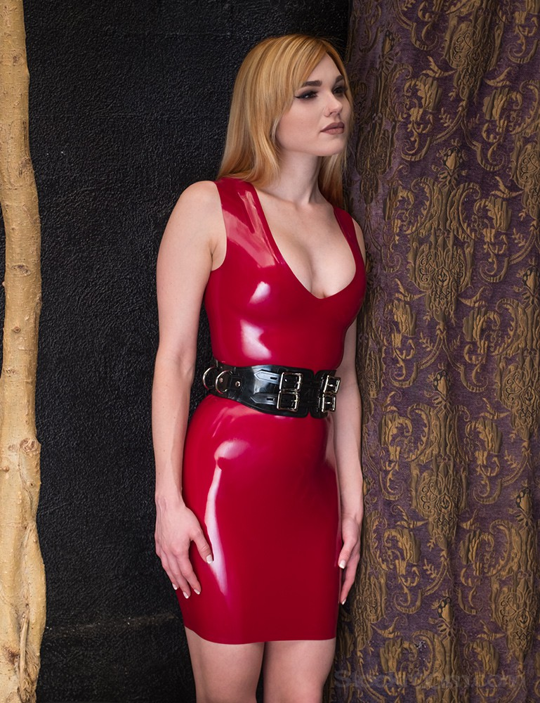 Syren Latex - Little V Dress - Jamie Langford