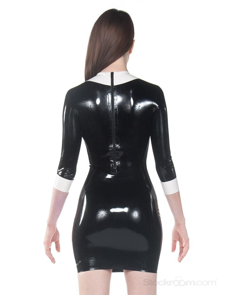 Syren Latex - Wednesday Dress