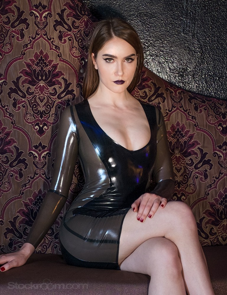 Syren Latex Juno Dress
