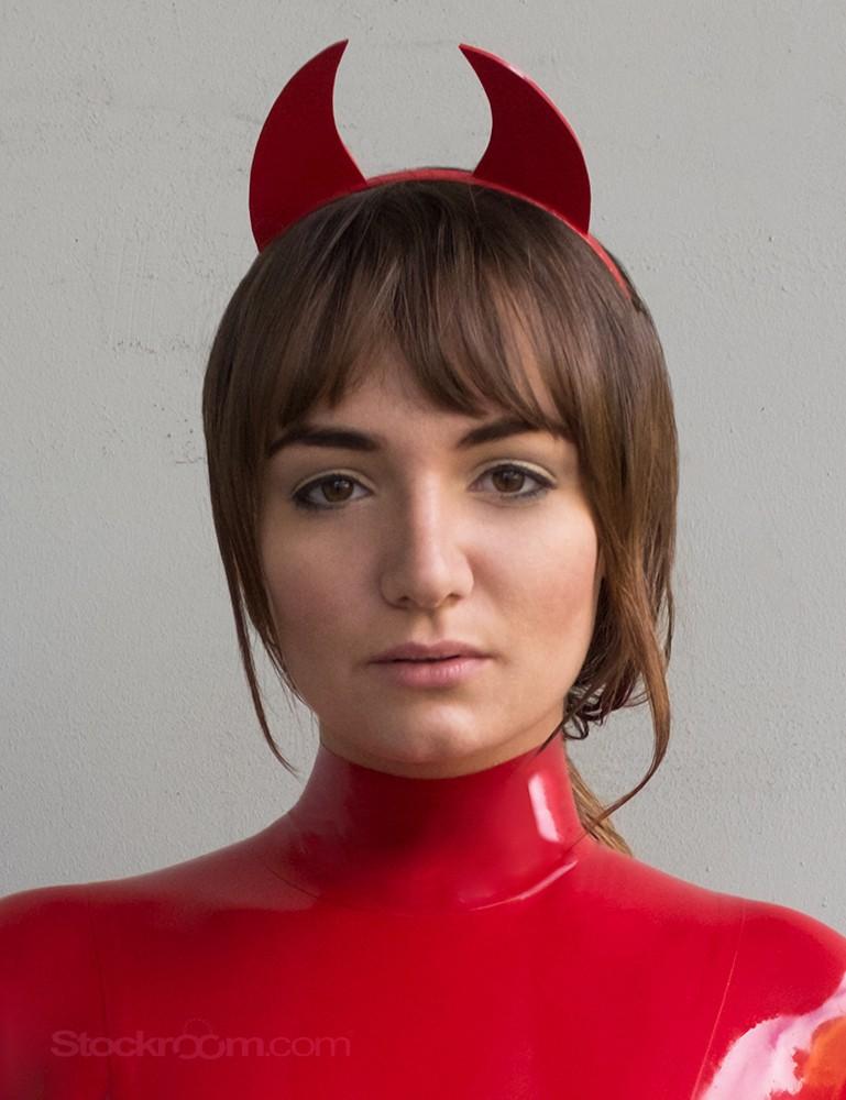 Syren Latex Devil Horns - Charlotte Cross